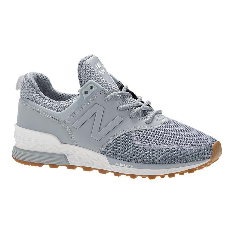 New Balance Women's 574 Sport Shoes Light Slate/White