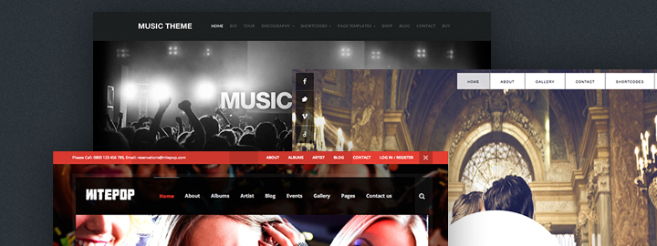 30 WordPress Themes for Parties, Weddings & Entertainment Events ...