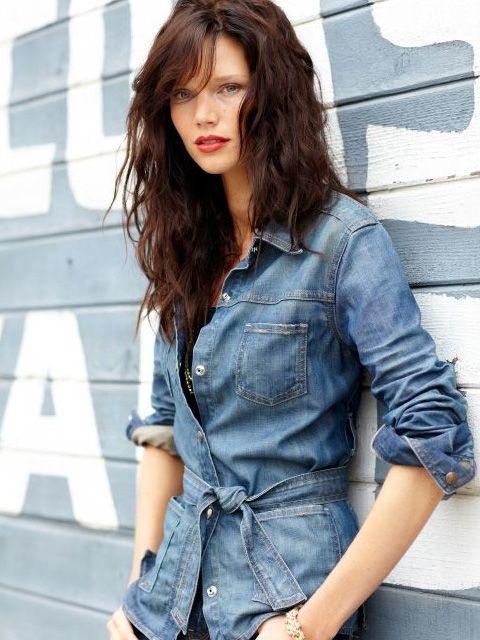 1000  images about Denim fashion on Pinterest | Katherine heigl