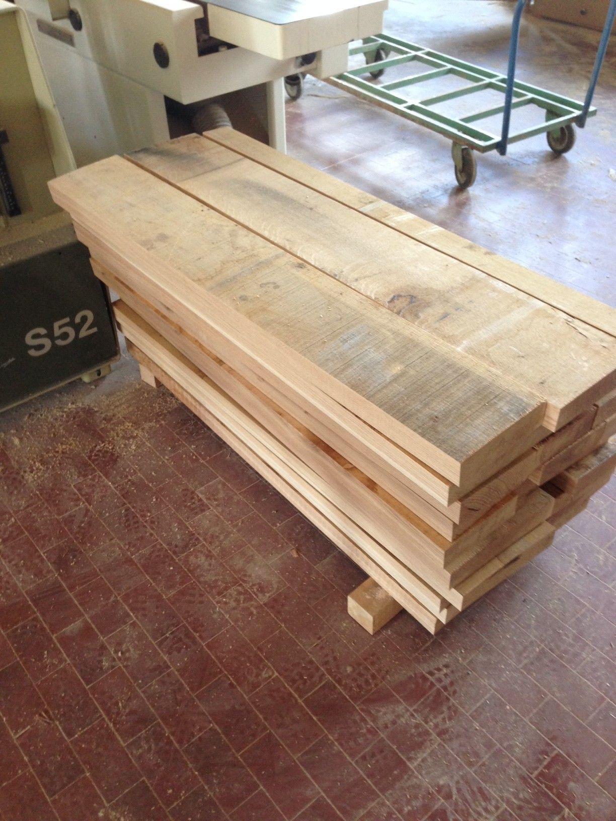 Piallatura di tavole in legno di rovere per gradini for Tavole moderne