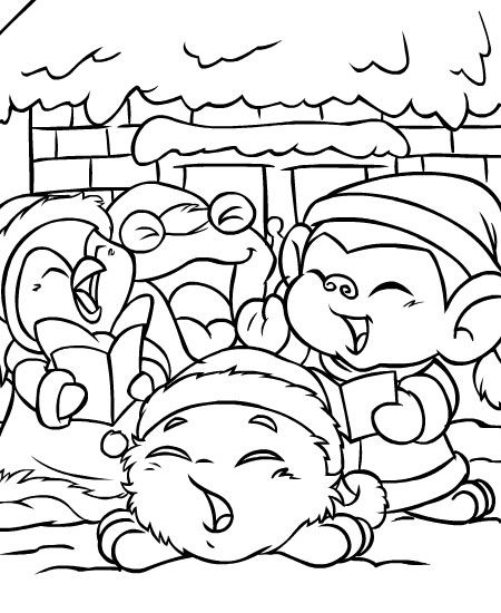 Pin by SUSIE Petri on LineArt Neopets Coloring pages