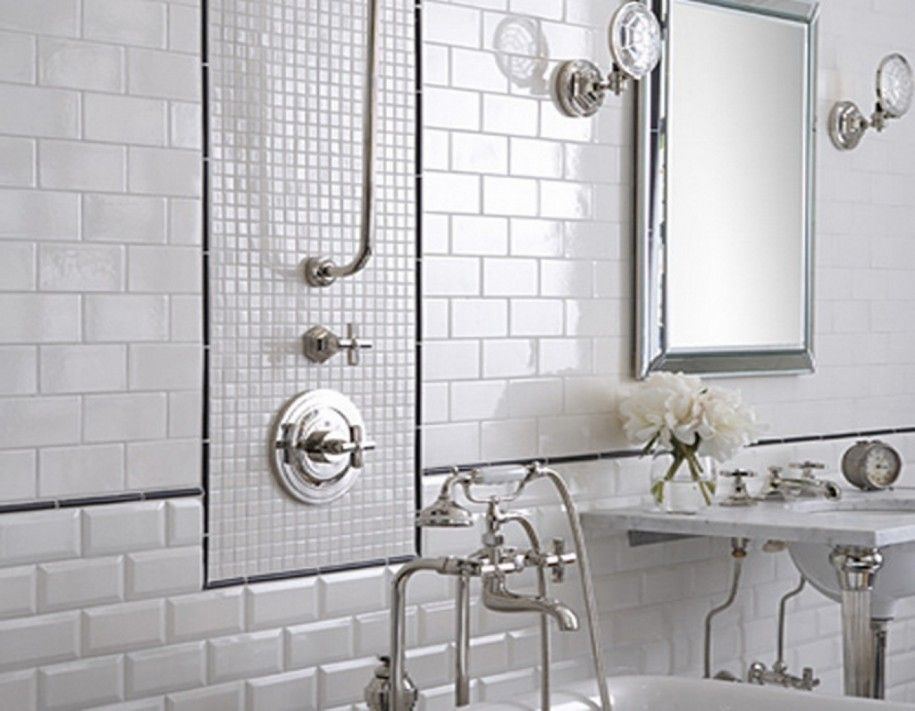 Cool Bathroom Tile Design Change Common Into Classy One Luxury Modern White Wall Mirror Ozvip