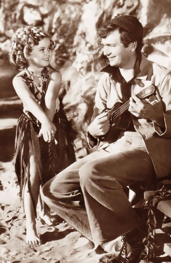 Shirley Temple and Buddy Ebsen