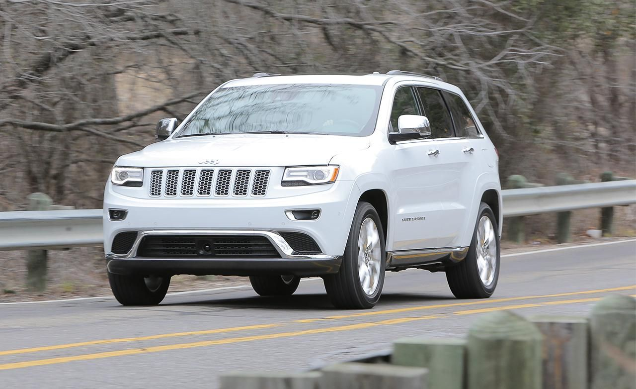 The new jeep grand cherokee diesel 2014 ecodiesel will take us anywhere anytime in safety style and with fuel economy thank you roboform santa