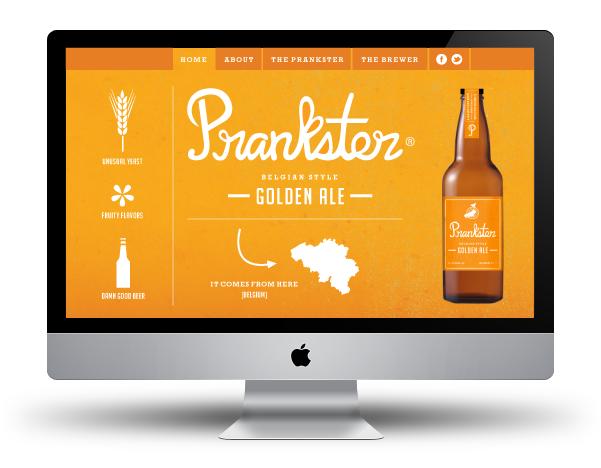Prankster Golden Ale - Danielle Chandler