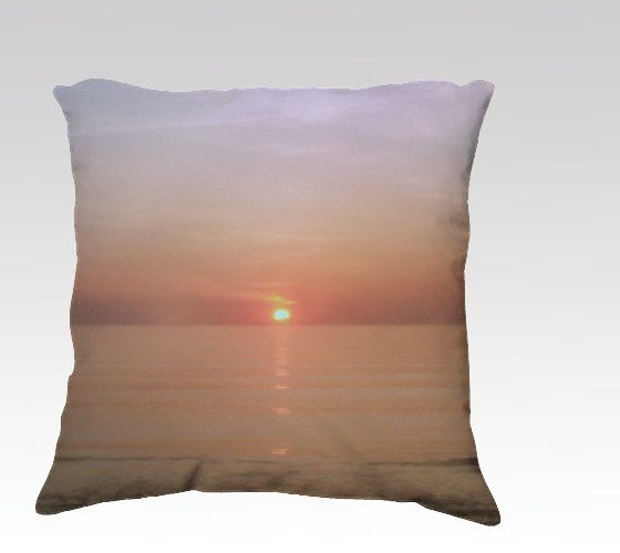 Pillow Cover Microsuede Break of Dawn in the by SouthernComfortArt