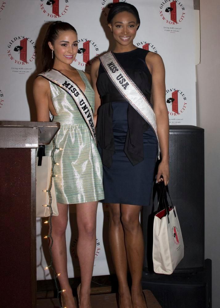 Miss USA Nana Meriwether and @Miss Universe looking sleek and classy ...