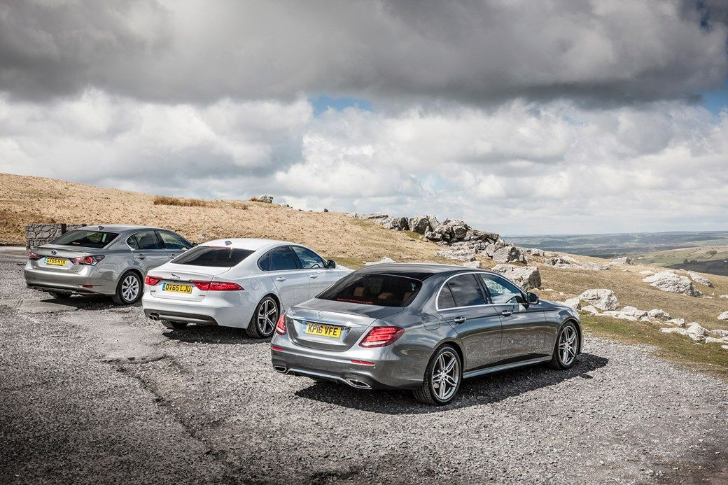 Sit in the new E-class and its brilliant cabin says 'winner'. That's the first battle, but Jaguar and Lexus are still in the war