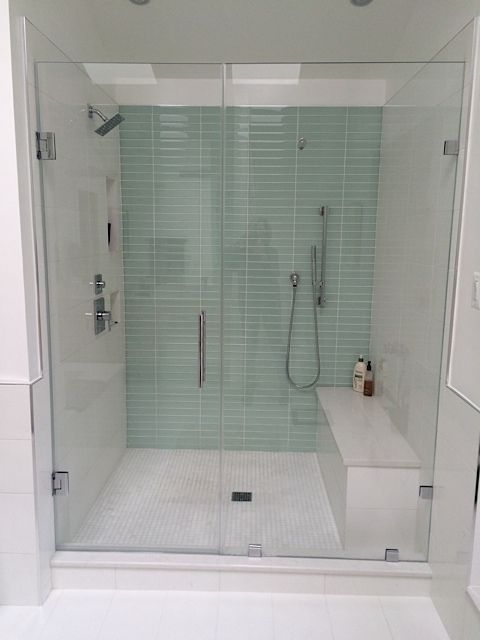 Tiling A Shower Floor knoxville tile contractor floor kitchens bathrooms showers This Bathroom Features 18x18 Cloud Matte Porcelain Field Tile On The Floor Wainscot Tub
