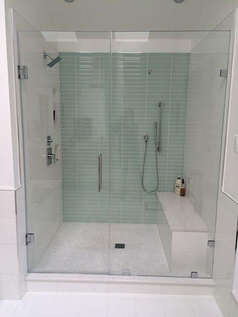 Tiling A Shower Floor save This Bathroom Features 18x18 Cloud Matte Porcelain Field Tile On The Floor Wainscot Tub