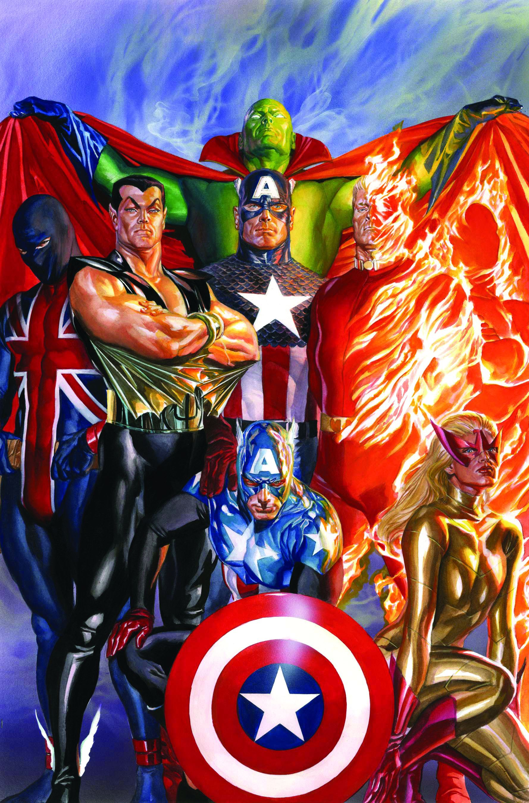 The Invaders-Union Jack ,the Sub Mariner The Original Vision