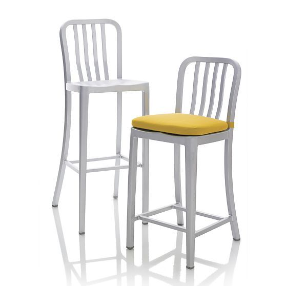 Delta Aluminum Counter Stool Reviews Crate And Barrel