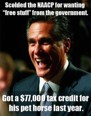 Romney and his pet horse   Anti-Republican Memes and