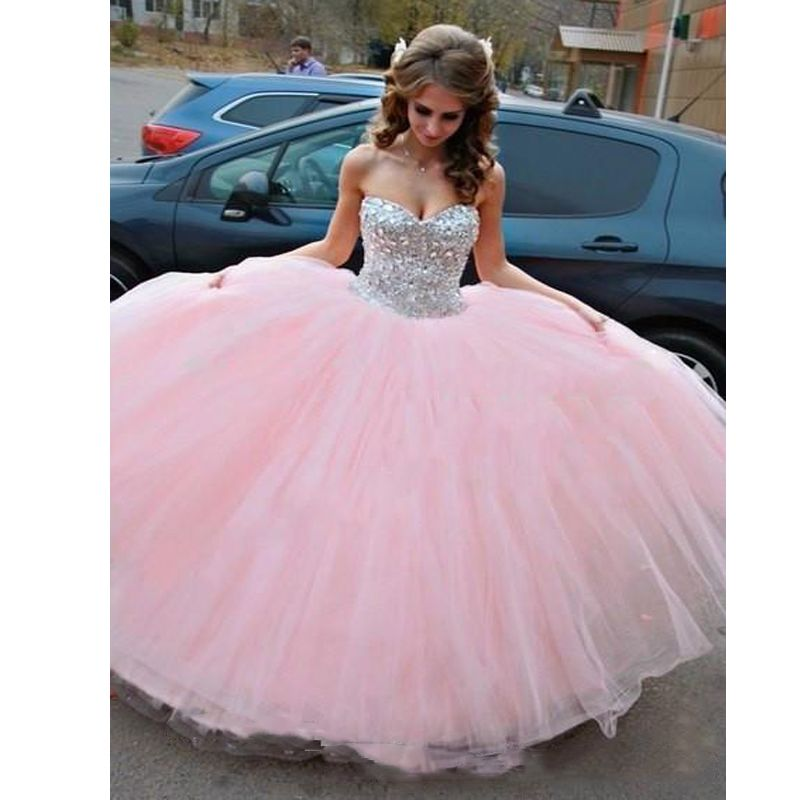 Find More Quinceanera Dresses Information About 2017 Light Pink