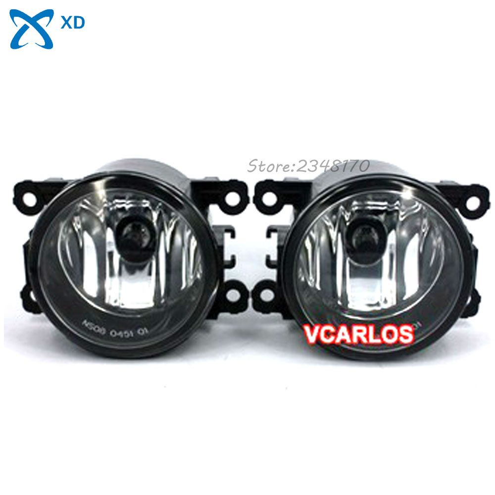 Fog Lights Lamp For Nissan Patrol 2010on Clear Lens Pair Set Honda Pilot Light Wiring Harness Kit