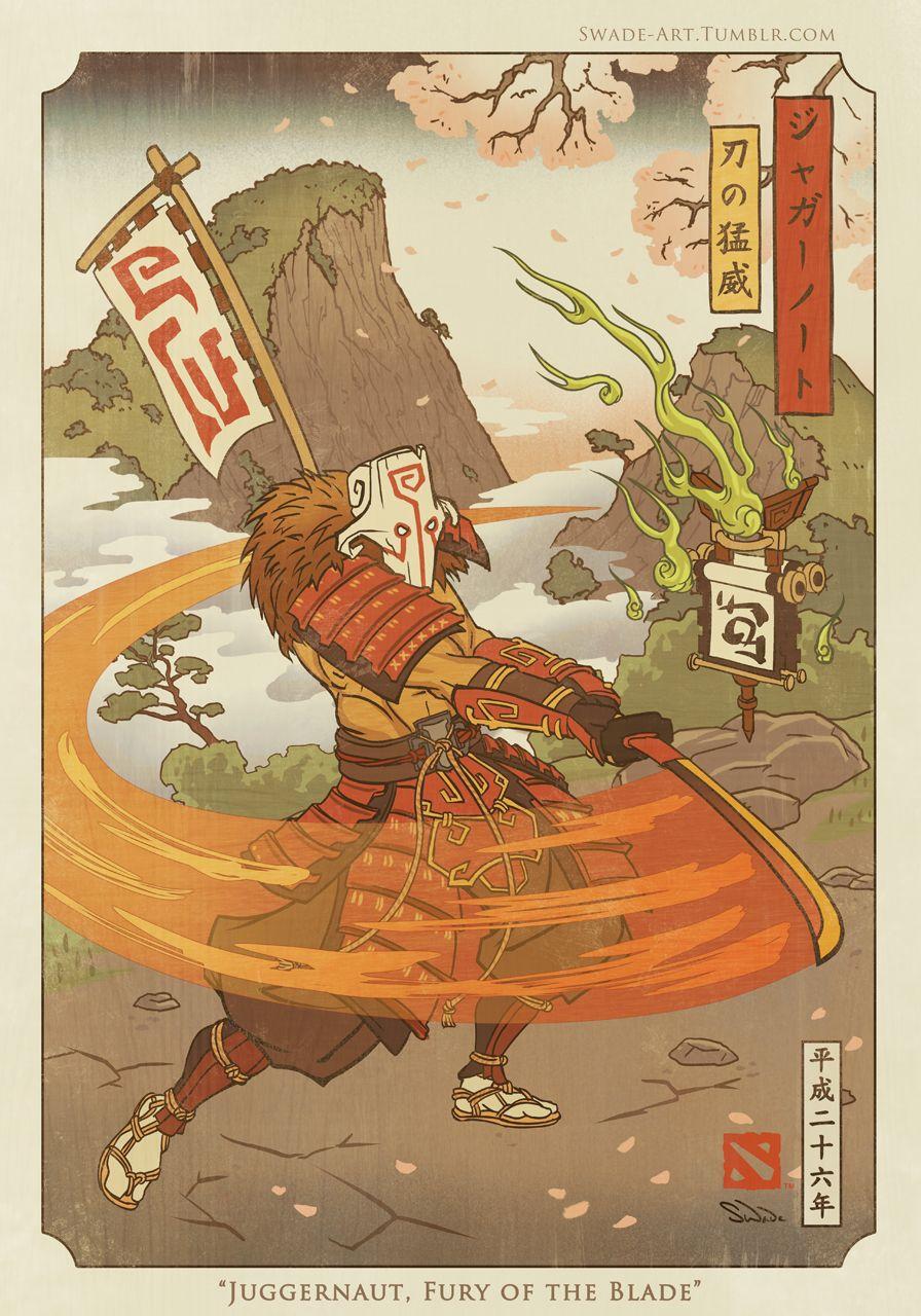 dota2 blog juggernaut fury of the blade dota 2 by swadeart