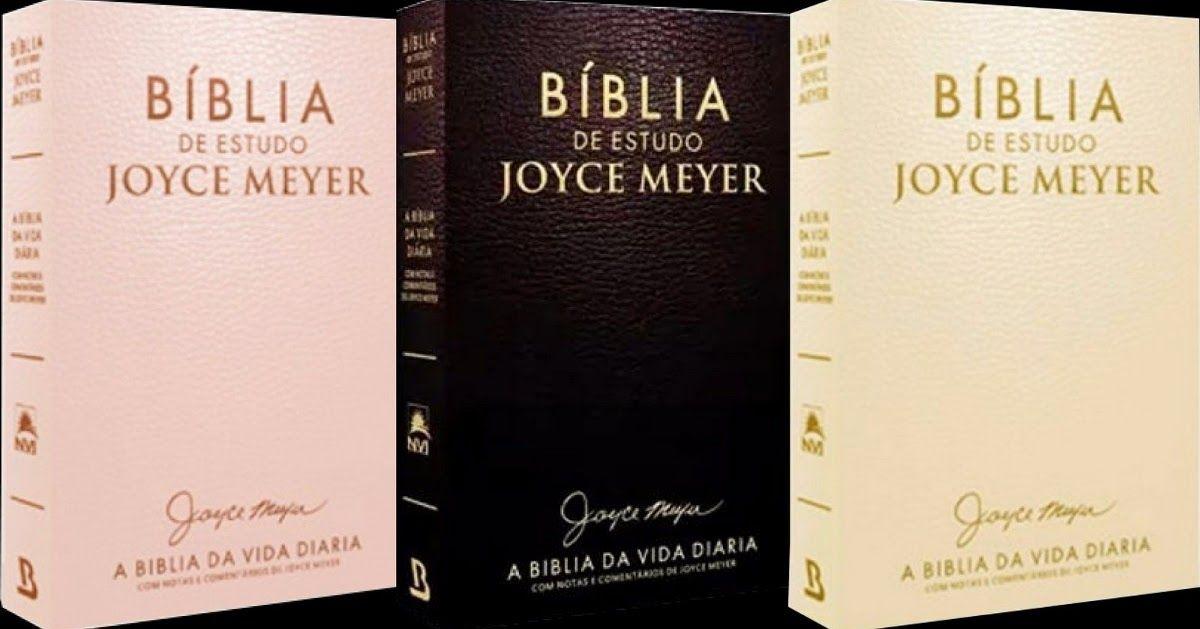 Biblia Estudo De Thais Anjos Em Books Future Em 2020 Joyce Meyer