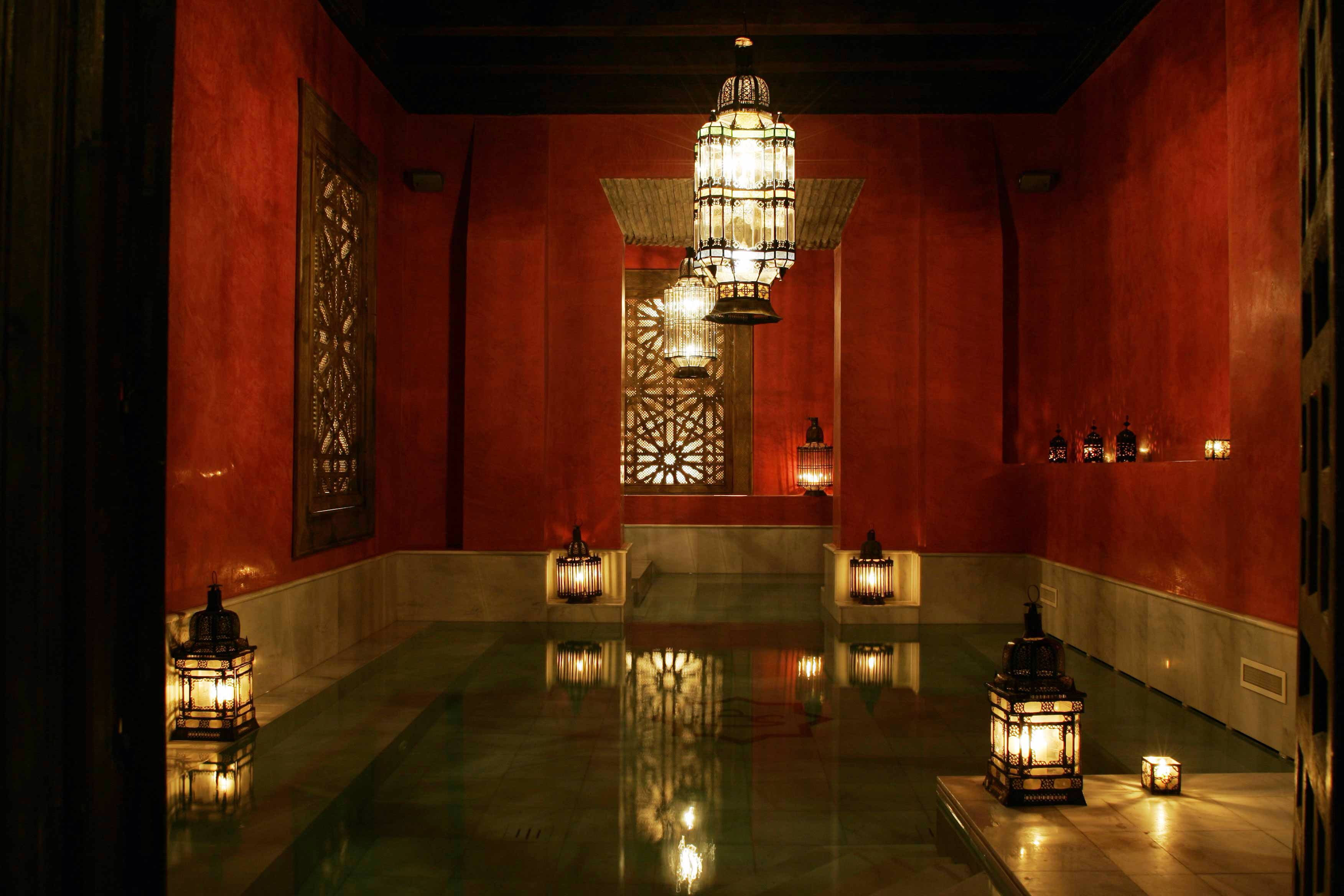 Arab Baths Aire de Sevilla in Spain My Favorite Things