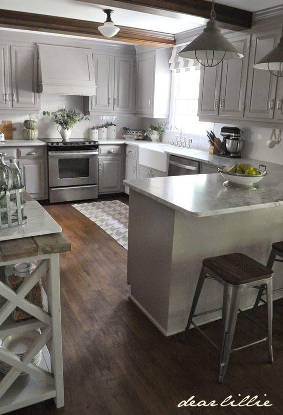 cabinet range hood kitchen remodel small kitchen layout kitchen renovation on farmhouse kitchen grey cabinets id=72557