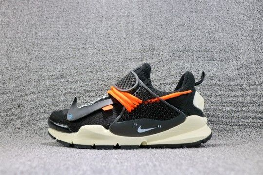 Off White x Nike Sock Dart  Black  819686-053  4492b14ae