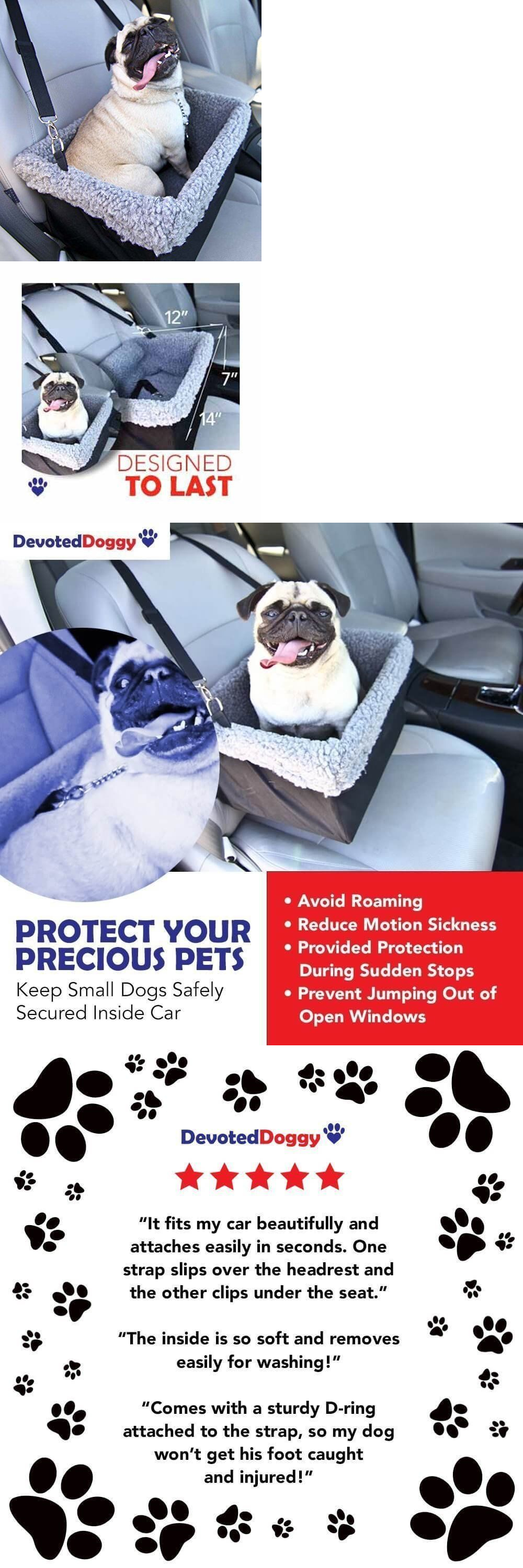 Car seats and barriers dog booster car seat puppy small