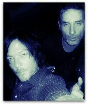 Andrew Lincoln And Norman Reedus Haircut Tight Pinterest