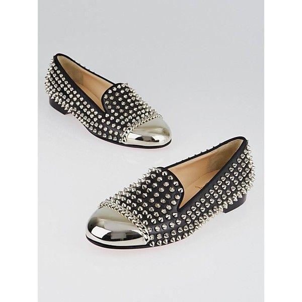 Pre-owned - Spike patent leather flats Christian Louboutin DndrDho