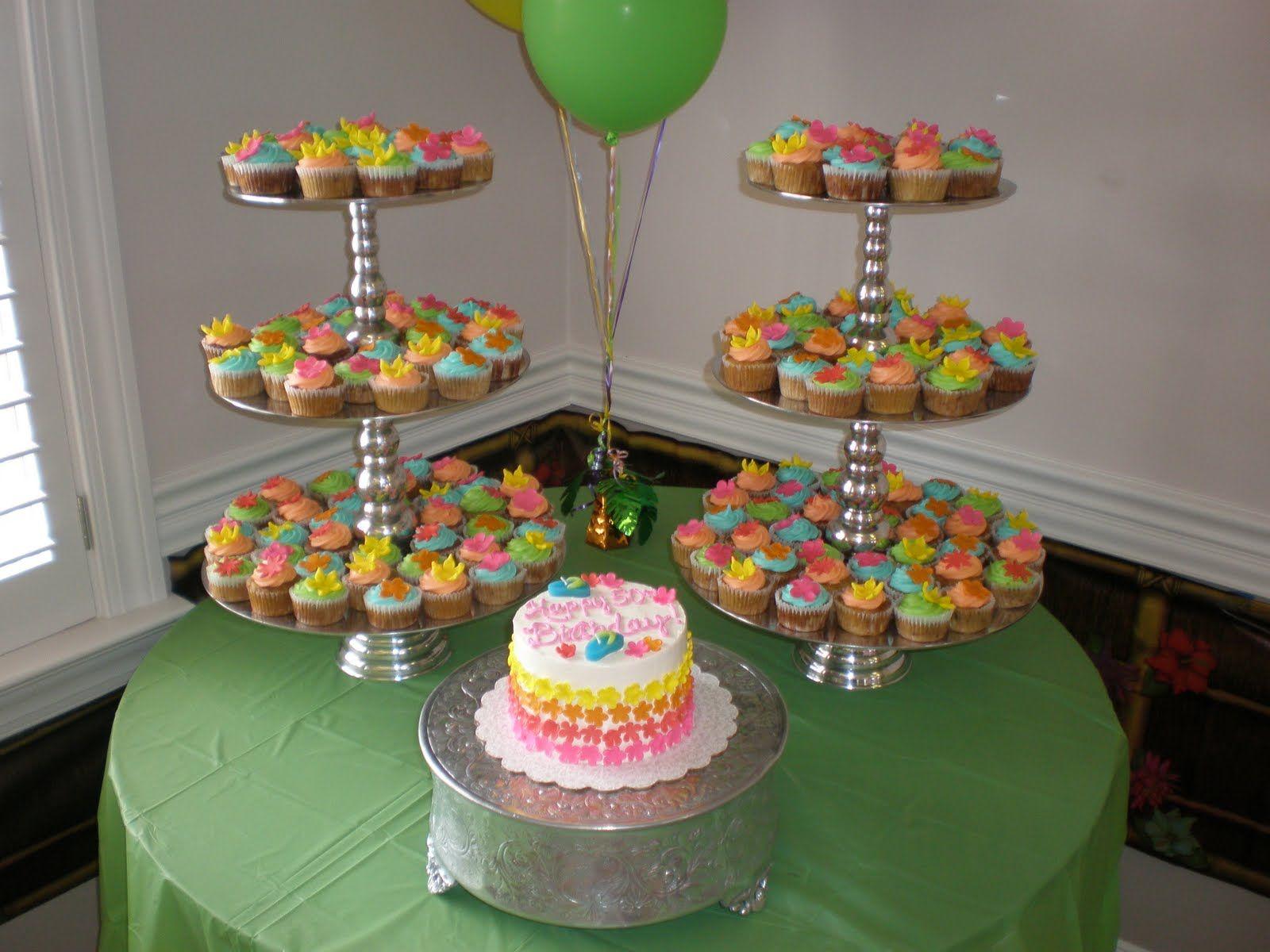 luau wedding cakes