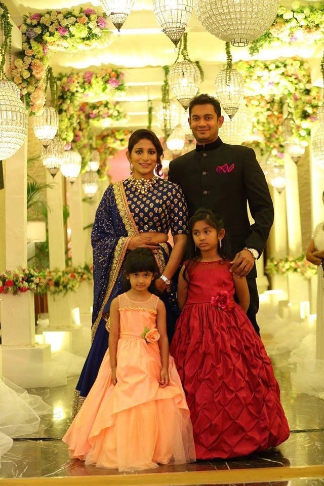 Chiranjeevi Daughter Sreeja Unseen Wedding Pictures Kids Designer Dresses Frocks For Girls Mom Daughter Matching Dresses
