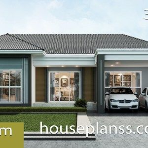 Home Design Plan 13x18m With 5 Bedrooms Home Ideas Small House Design Plans Small House Design Home Design Plans