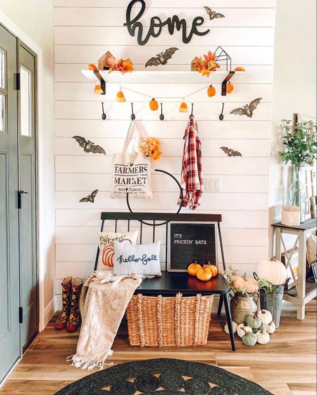 11 Easy Halloween Decor Ideas For Your Home The Wonder Cottage Fall Home Decor Decor Fall Halloween Decor