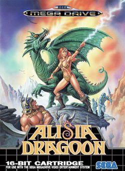 Alisia Dragoon アリシアドラグーン Es Un 1992 Juego De Plataformas