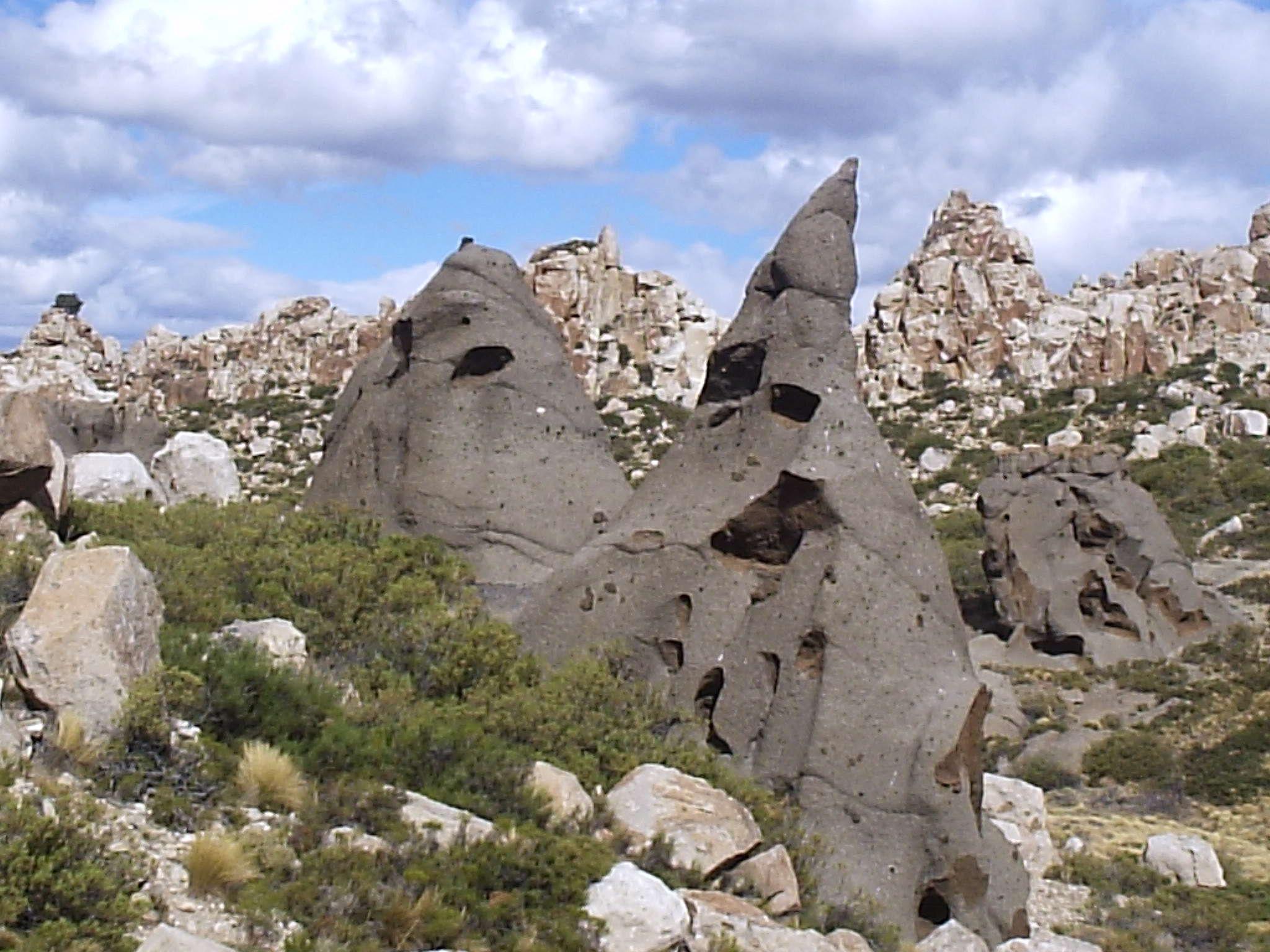 Los Riscos. Caviahue. Patagonia Argentina.