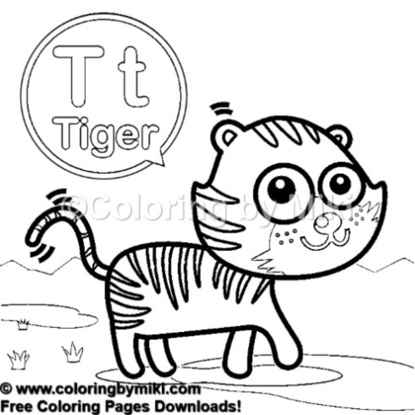 Pin On Coloring Pages For Kids Free Printable