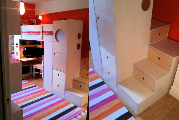 Beds With Desks Under Them   Google Search
