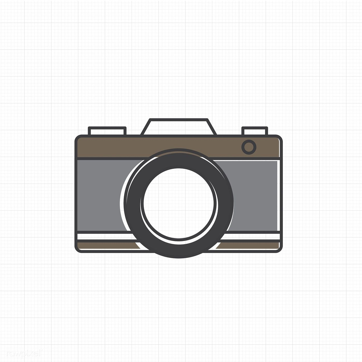 Vector Of Camera Icon Free Image By Rawpixel Com Kamera Animasi Kamera Wallpaper Iphone