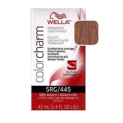 Wella Color Charm - Light Auburn 5RG/445 1.4 oz | Products ...