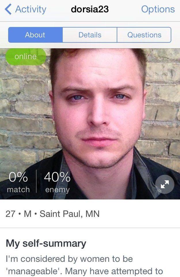 Bad dating profiles tumblr