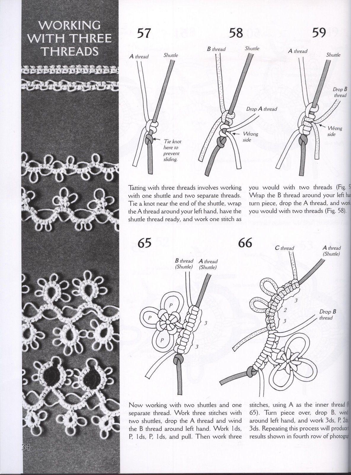 Pin de Nanys en Bordado | Pinterest | Álbum, Collares crochet y ...