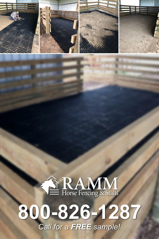 Grid Sample Horse Stall Flooring