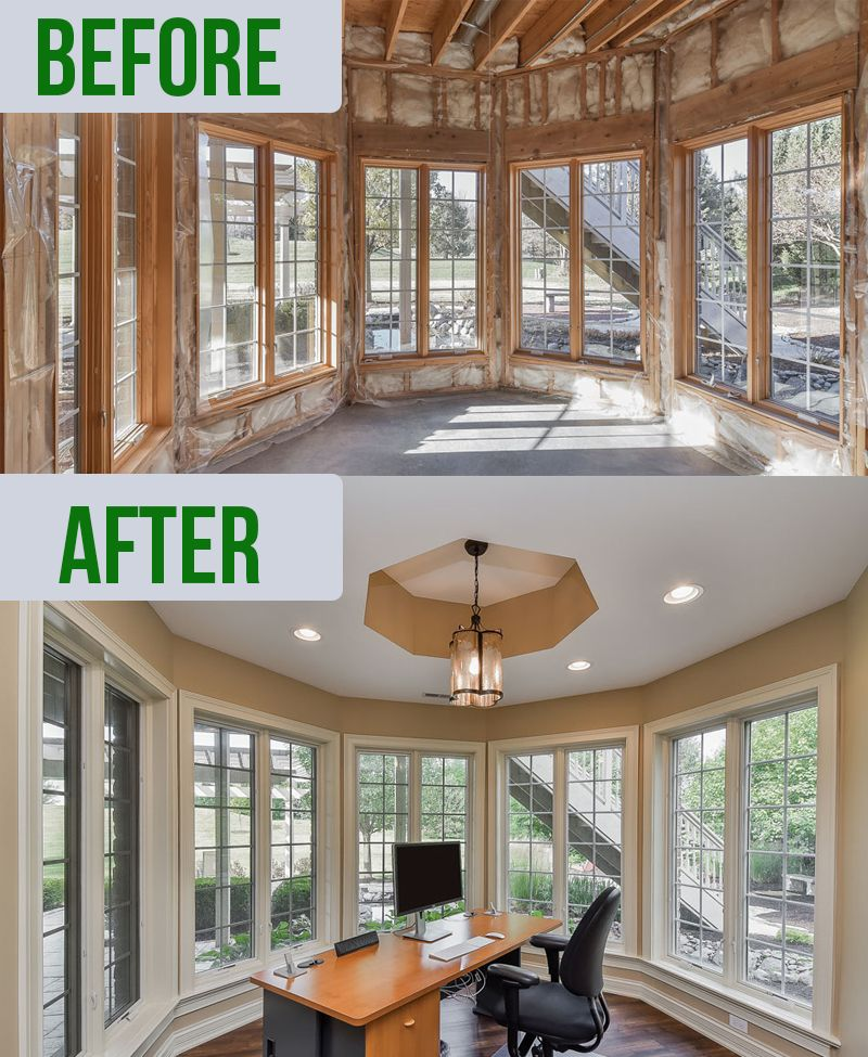 Basement Remodeling: 20+ Best Basement Remodel Before And After Ideas