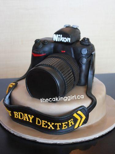 Nikon Camera Cake! | Visit my Blog at www.TheCakingGirl.com!