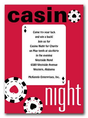 Casino Night Casino night Casino party and Casino theme