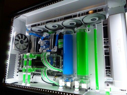 Liquid Cooling Custom Computer Gaming Computer Room Computer Setup