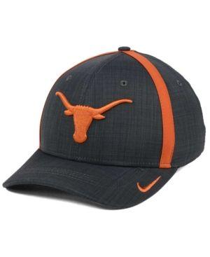 8805230c Nike Texas Longhorns Aerobill Classic Sideline Swoosh Flex Cap - Black L/XL