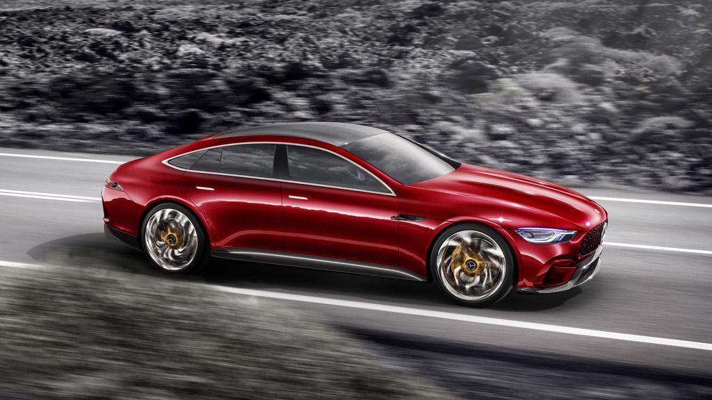 Four Door Mercedes Amg Gt Concept Revealed At Geneva Motorshow