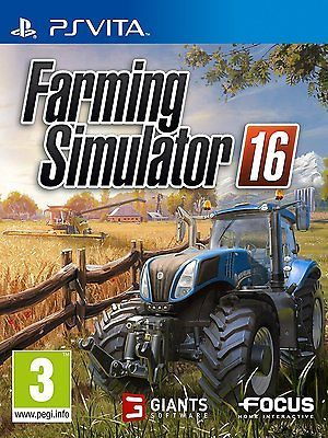 #Farming #simulator 2016 ps vita for pal ps vita (new & #sealed),  View more on the LINK: http://www.zeppy.io/product/gb/2/332062242707/