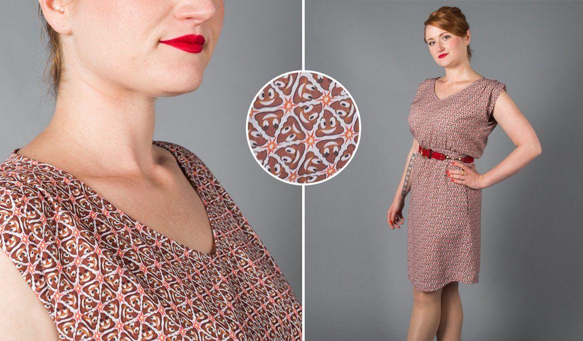 Poo Emoji Perfect Dress
