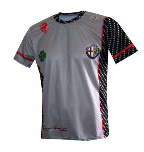 Alfa Romeo Q4 T-shirt Maglietta Camiseta Paddock racing Travel Gift Quadrifoglio