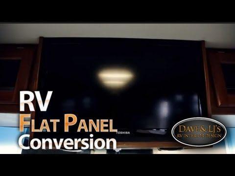 Rv Interior Design Rv Flatscreen Conversion And Remodel Rv